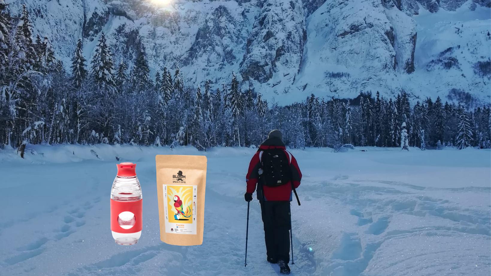 Cafflano Go Brew: una bottiglia attenta all'ambiente!